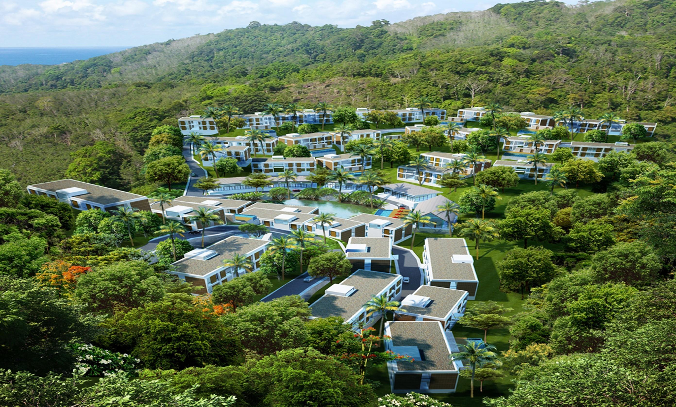 Patong Bay Hill Appartamento Vista Giardino